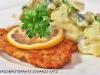 Bisteccha milanese con patate saltate