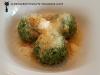 Canederle ai spinaci con burro e parmigiano