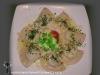 schlutzer-Tirolesi con spinaci burro e parmigiano